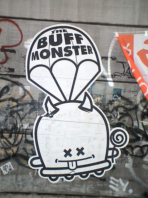 Buff Monster Buff Monster Pasting Found In The Heart Of Sh Flickr