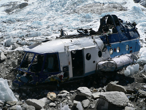 Helicopter at Mt. Everest Base Camp | by Mahatma4711