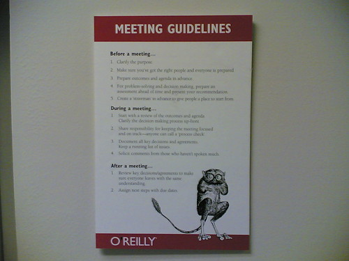 Conference Room Wall Gina Trapani Flickr