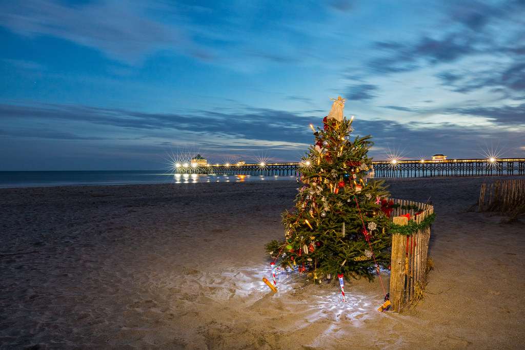 christmas on the beach by john getchel photography