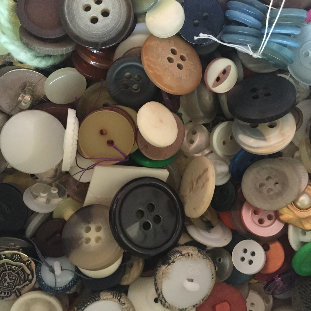 a snippet of the extent of the button collection