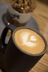 Latte, Mazarine Coffee, San Francico
