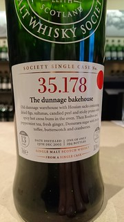 SMWS 35.178 - The dunnage bakehouse