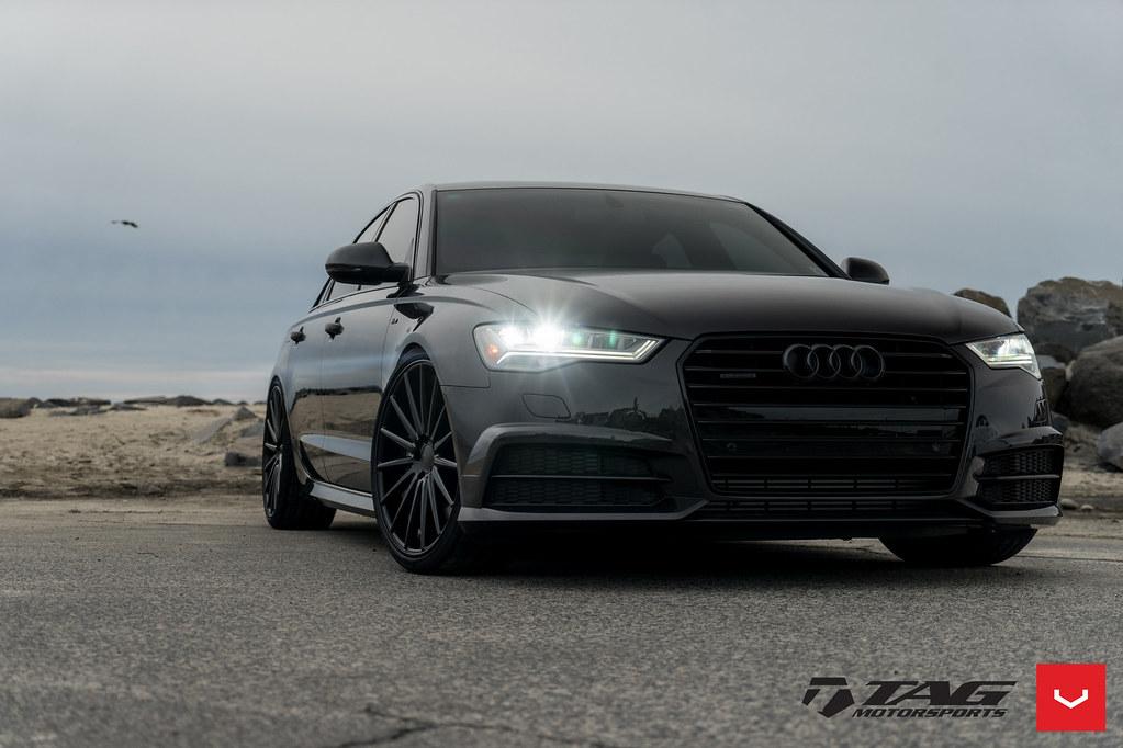 Audi A6 - VFS-2 - Custom Black - © Vossen Wheels 2017 - 10 ...