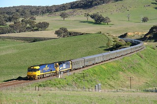 Spring time Indian Pacific | by Aussie foamer
