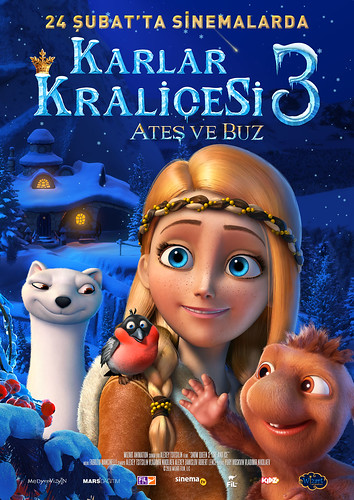Karlar Kraliçesi 3: Ateş ve Buz - The Snow Queen 3: Fire and Ice (2017)