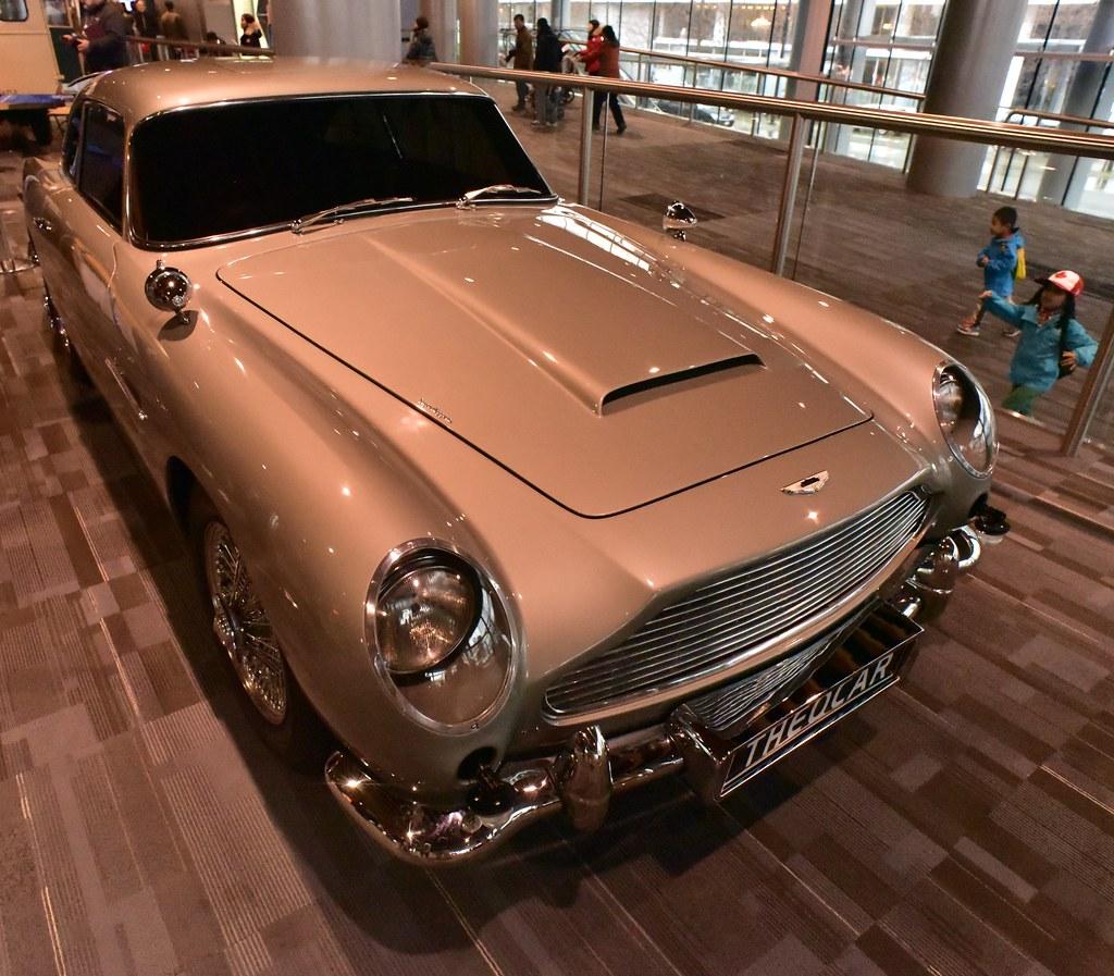 Aston Martin Db5: James Bond's Vehicles: The