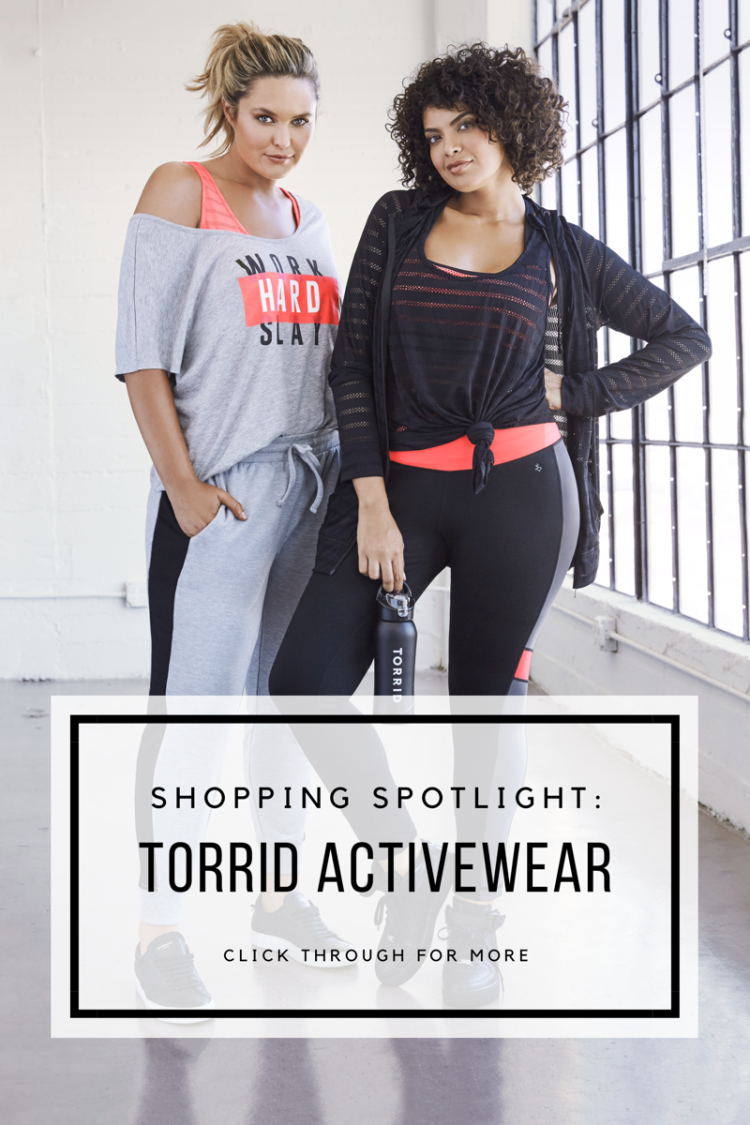 Torrid Plus Size Active Workout Clothes