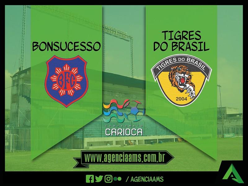 Bonsucesso x Tigres do Brasil / 21/01/2017