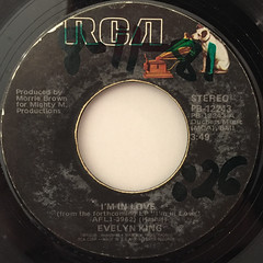 EVELYN KING:I'M IN LOVE(LABEL SIDE-A)