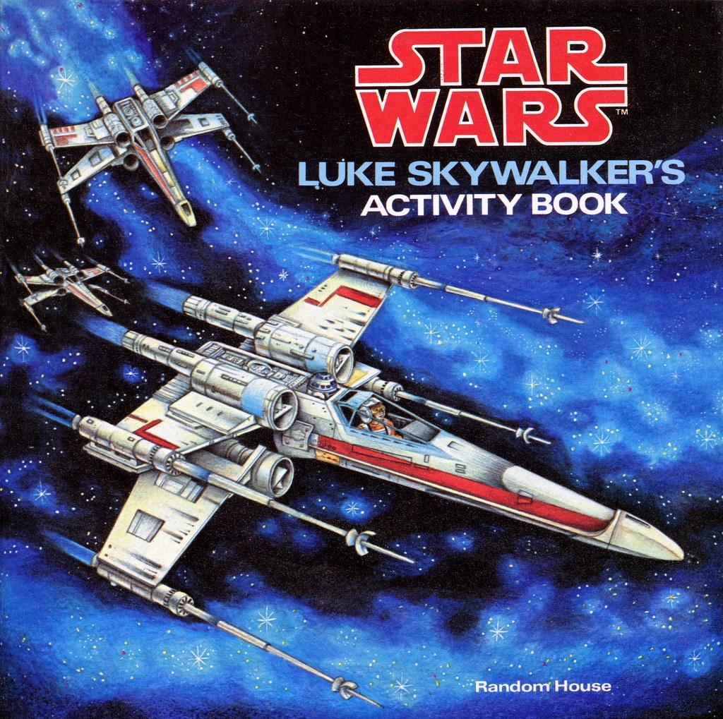 Luke Skywalker's Activity Book (1979) 01 - cover
