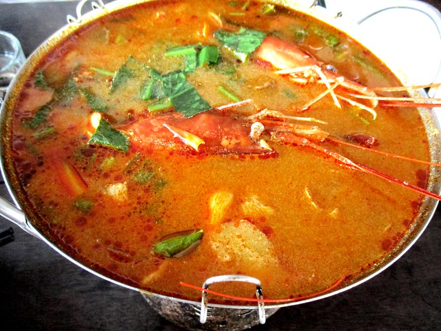 Flavours Thai Kitchen tom yam goong