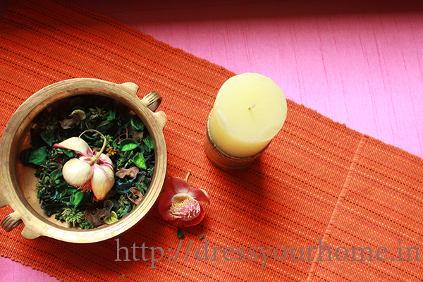 ethnic table setting