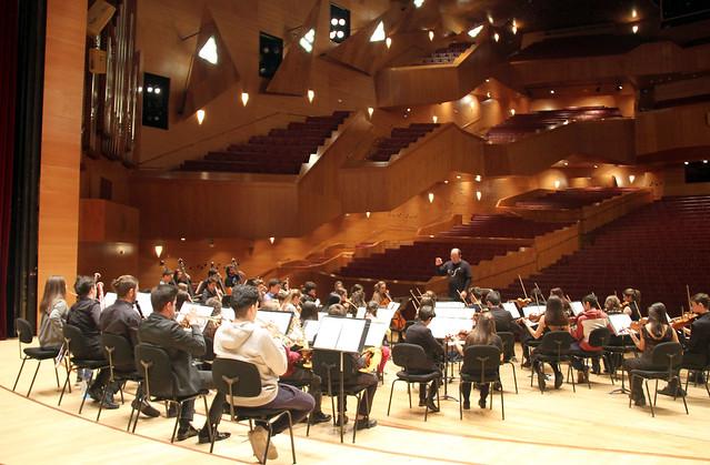 Fotoblog de juanluisgx el conservatorio de le n en el - Conservatorio musica bilbao ...