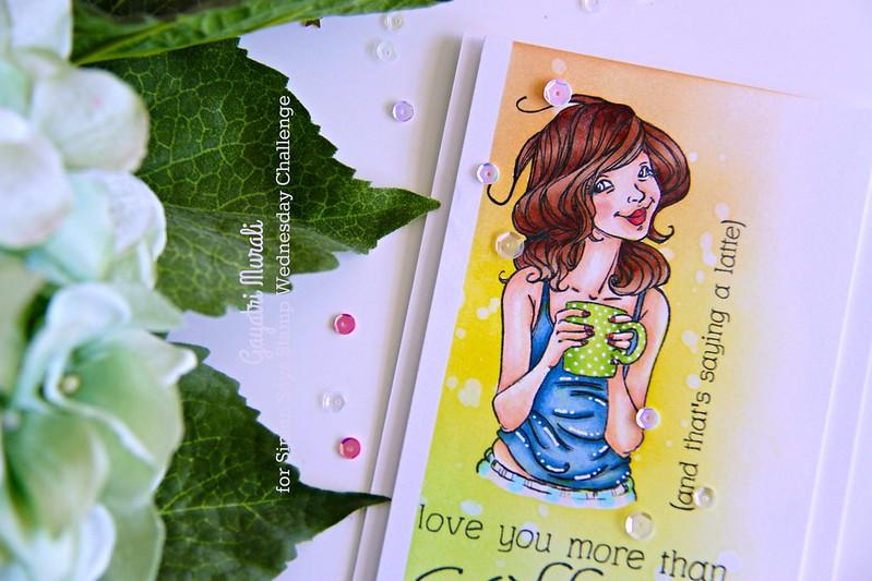 Mother Day card closeup