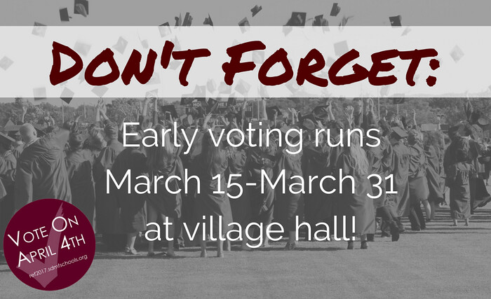 Early Voting Starts March 15