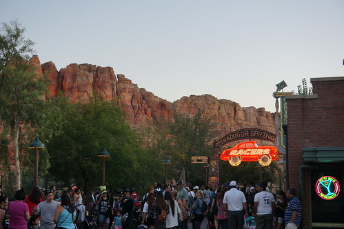 Radiator Springs Racers Entrance | by Disney, Indiana