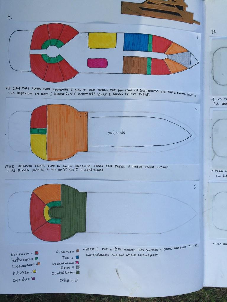 Floor Plan B. Boat 3 | Guccio Gucci Ludolf | Flickr