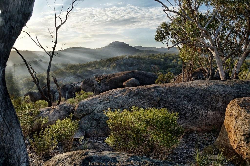 sunrise in girraween girraween national park australia. Black Bedroom Furniture Sets. Home Design Ideas