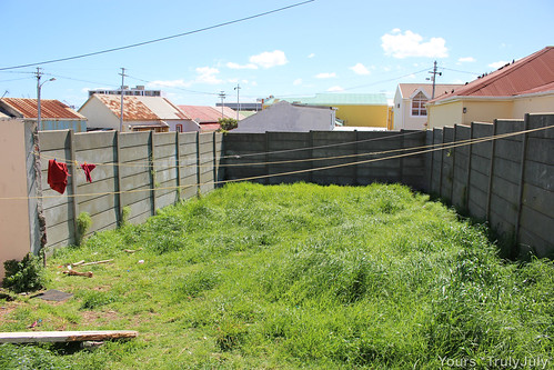 The original garden: What lies beneath is covered by heaps of lush grass.