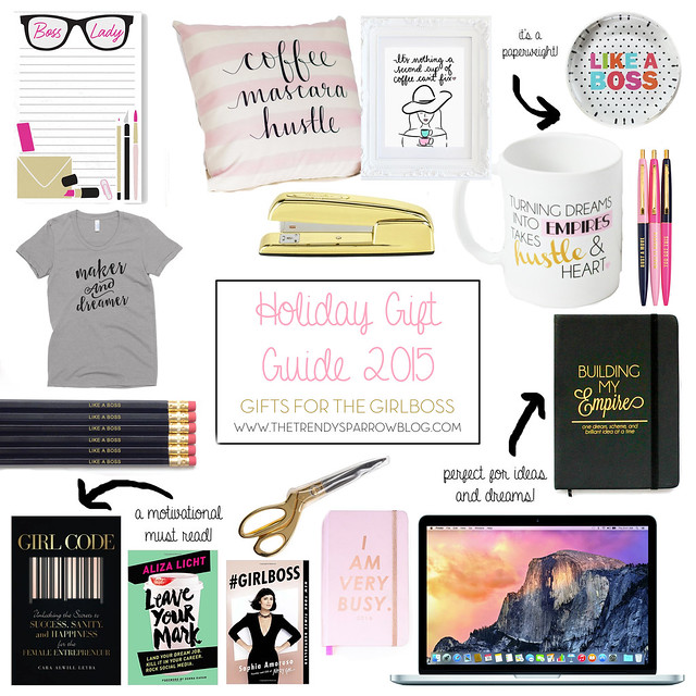 The Trendy Sparrow Holiday Gift Guide 2015 Gifts For The