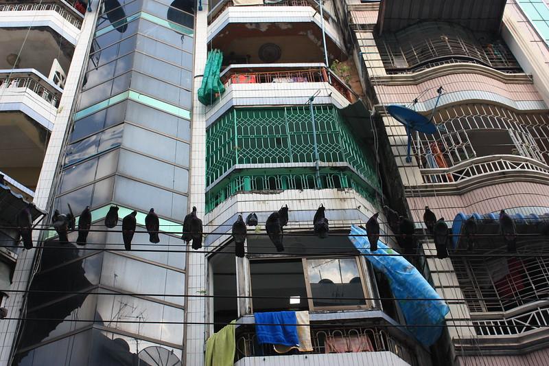 Даун-таун, Янгон