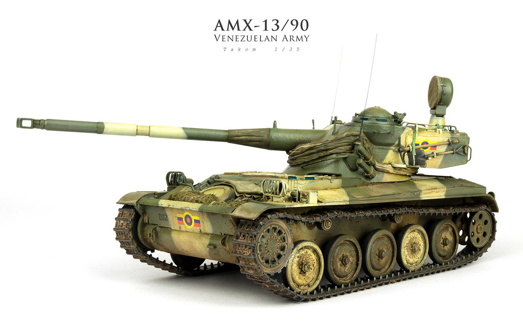 2016 Builds | Takom <b>AMX</b>-13/90 <b>1</b>/<b>35</b> | Andy Moore | Flickr