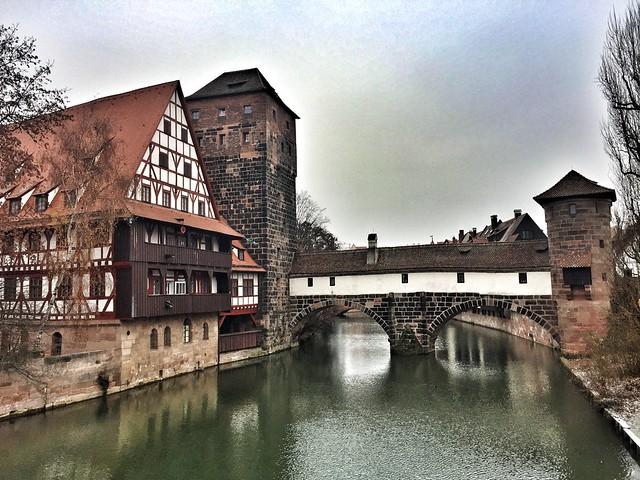 Puente del Verdugo en Nuremberg (Baviera, Alemania)