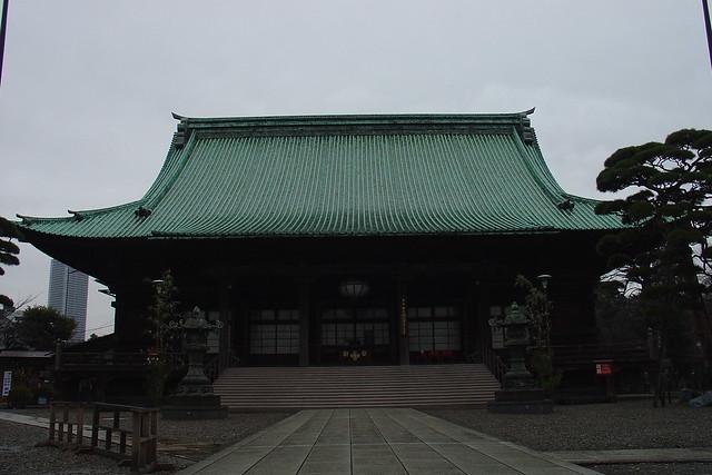 The main dome of Gokokuji Temple