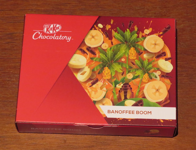 London Kit Kat Chocolatory - Banoffee Boom