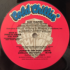 KID CAPRI:JOKE'S ON YOU JACK(LABEL SIDE-B)