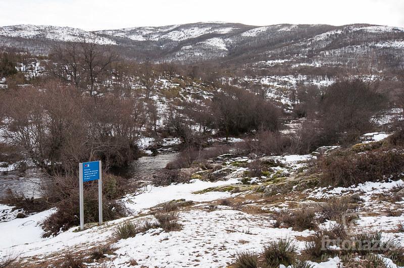 Nieve en el Valle del Lozoya