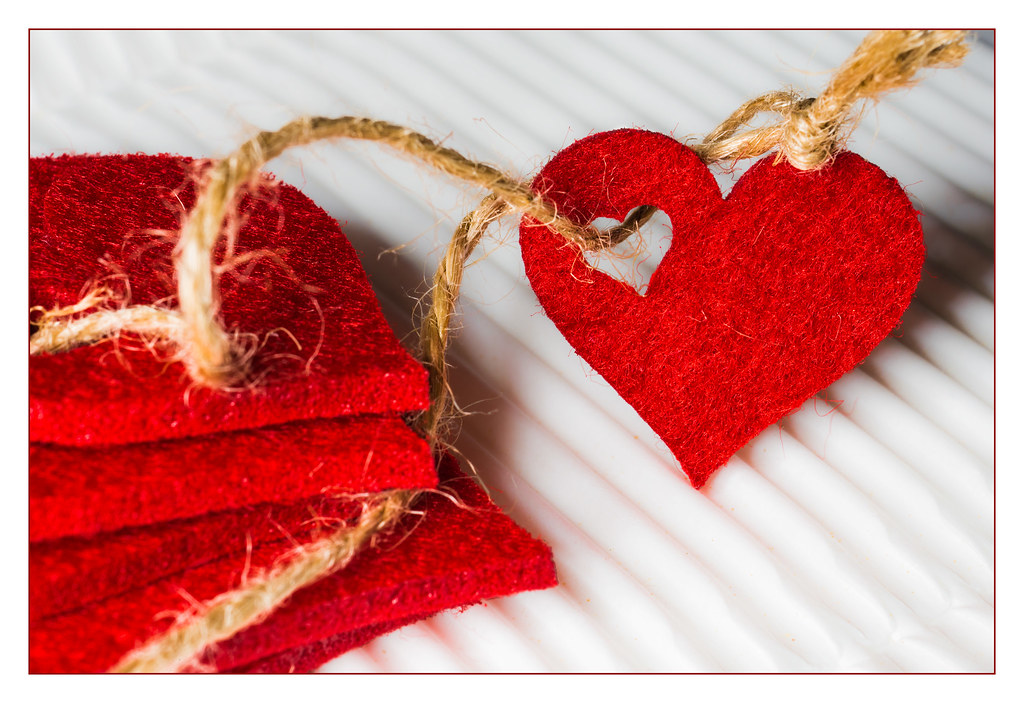 San Valentine Hearts Thread | Each of us has its own heart l… | Flickr