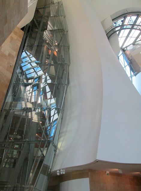 Internal Structure, Guggenheim Museum, Bilbao