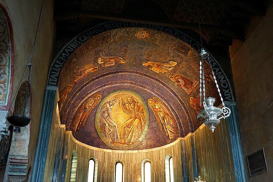 Ornate Trieste Cathedral Interior