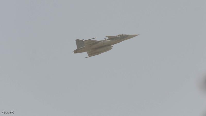 Flygvapnet Saab JAS 39 Gripen (262) departing RW23, VAAH