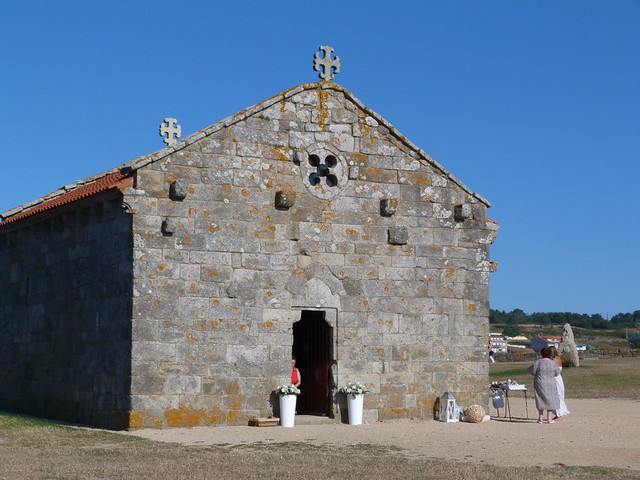 Ermita de Nuestra Señora de La Lanzada (Rías Baixas, Galicia)