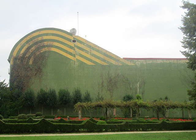 Painted Building by Ferrera Park, Avilés