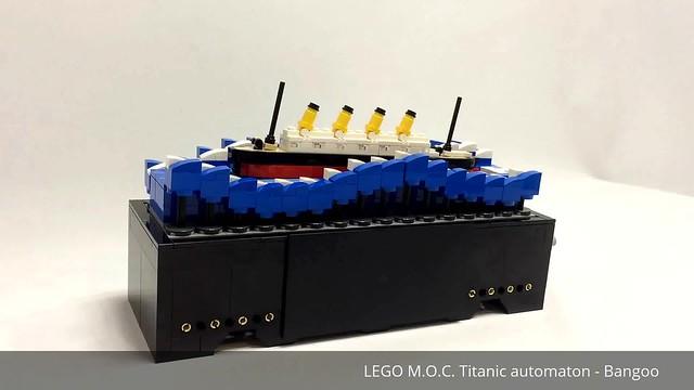 LEGO MOC Titanic Automaton - Bangoo