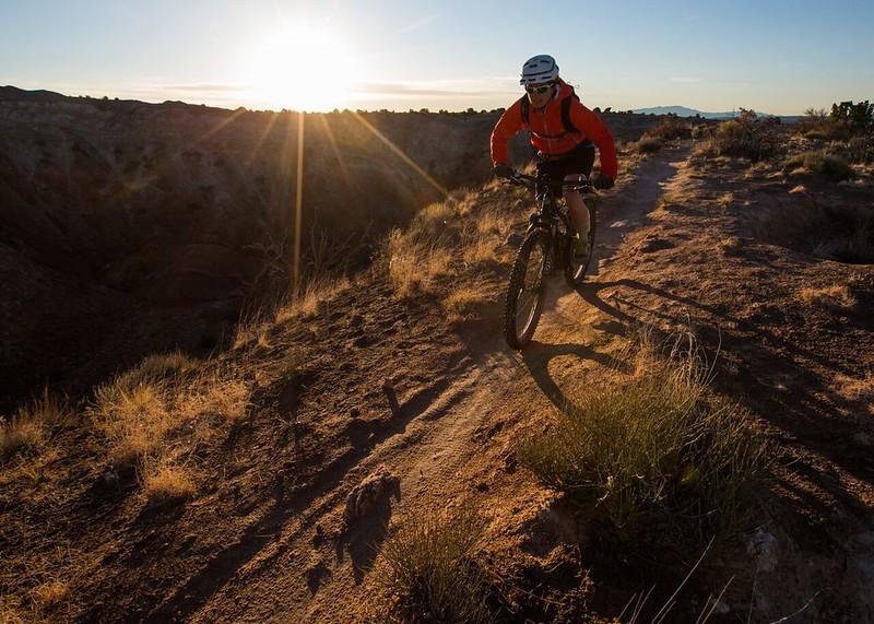 BLM Mountain Biking: White Ridge Mountain Bike Trail System in New Mexico