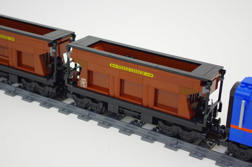 Coal Hopper Car Lego Cargo Train I Rebuilt The Hopper