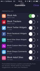 1Blocker / iOS