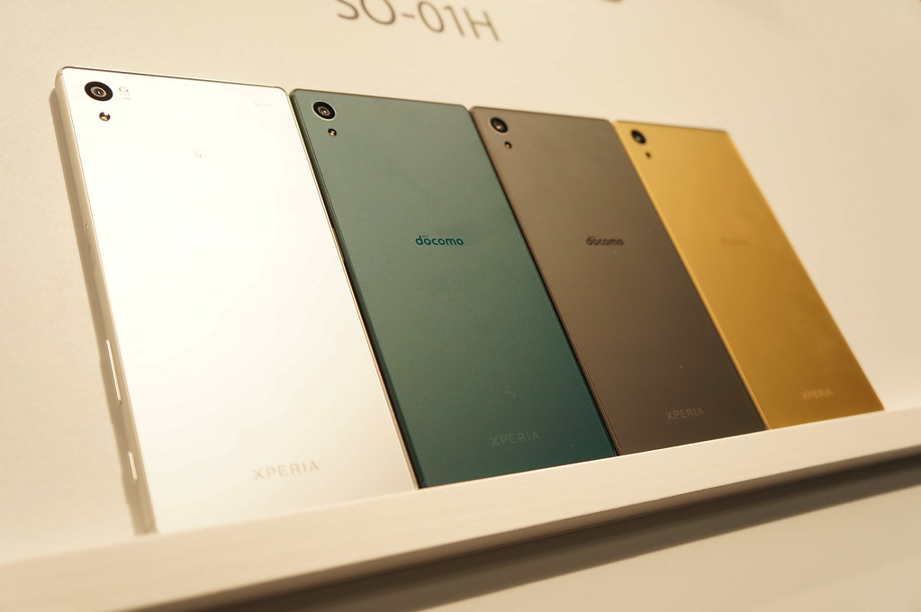 Xperia Z5 SO-01H / Xperia Z5 Compact SO-02H フォトレビュー シリーズ初の指紋認証対応