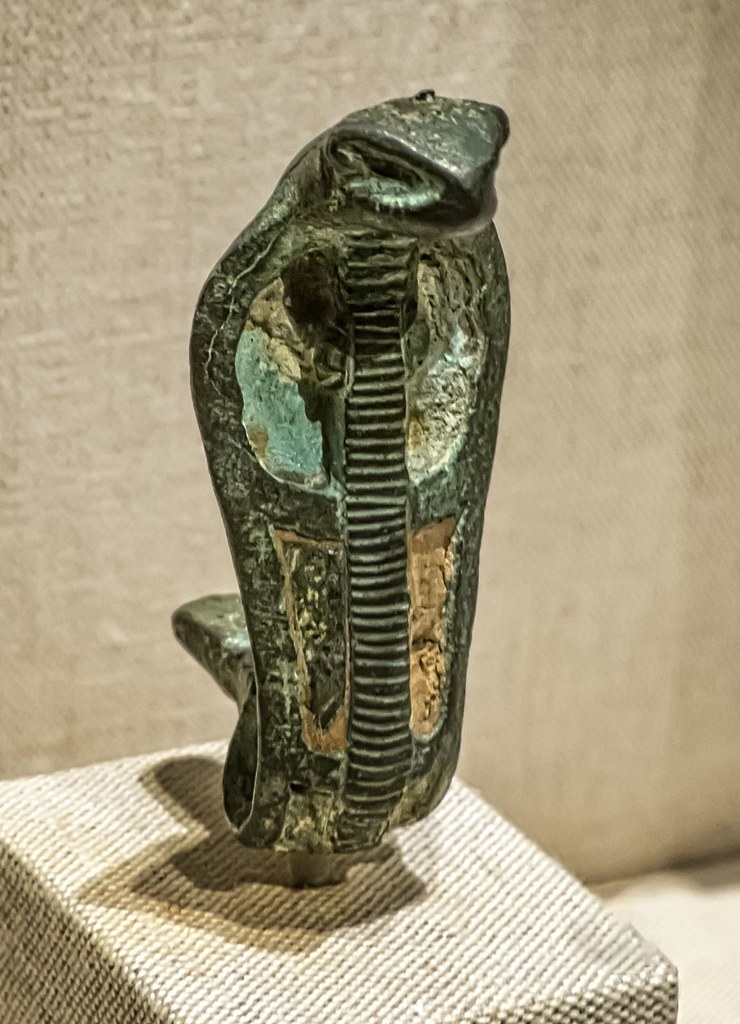 Uraeus Serpent Egypt New Kingdom Third Intermediate Peri Flickr