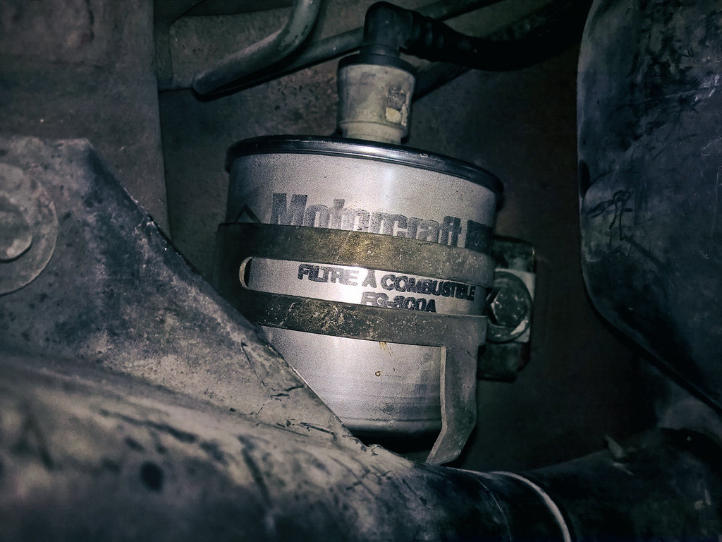 Just A Fuel Filter When Parts Hunting For My Good Ol Flickr Ford Replacement By Diego3336