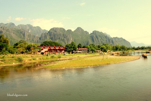 Vang Vieng Laos Nam Song River