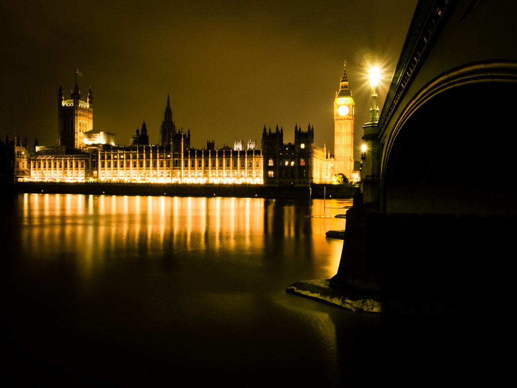 london, westminster, night, lights, thames, big ben, photography