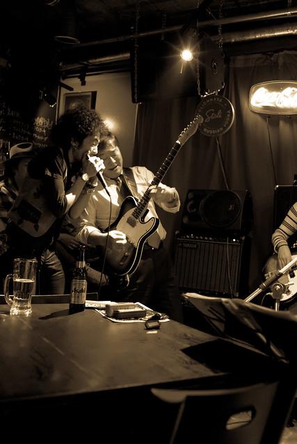 T.G.I.F. Blues Session at Terraplane, Tokyo, 13 Jan 2017 -00144