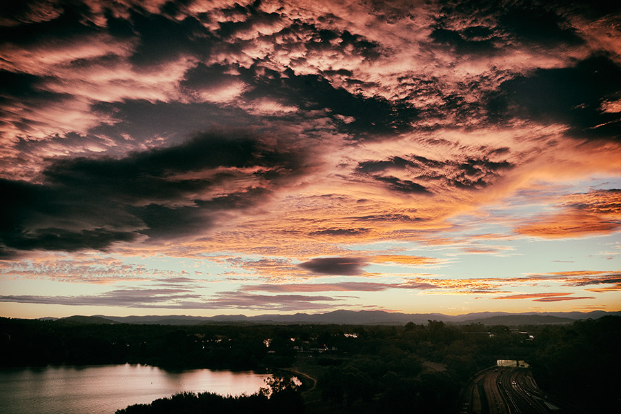 Canberra sunset 4