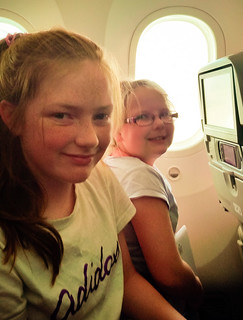 Flying Qatar Airways with kids
